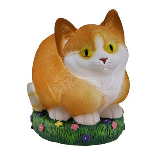 Glow Anywhere LED Cat Statue/Nitelite (Option: Orange)