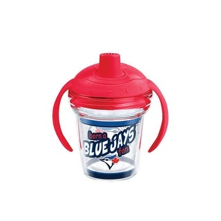MLB Toronto Blue Jays Born A Fan 6 oz Sippy Cup with lid