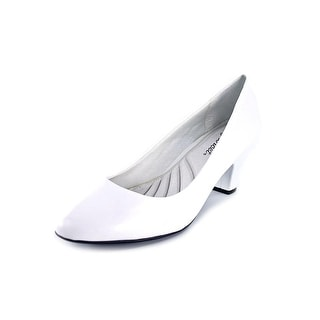 Easy Street Fabulous Women  Round Toe Synthetic White Heels