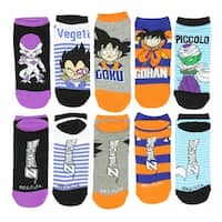 Dragon Ball Z Socks 5 Pack No Show Socks Unisex Low Cut