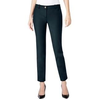 MICHAEL Michael Kors Womens Dress Pants Woven Flat Front
