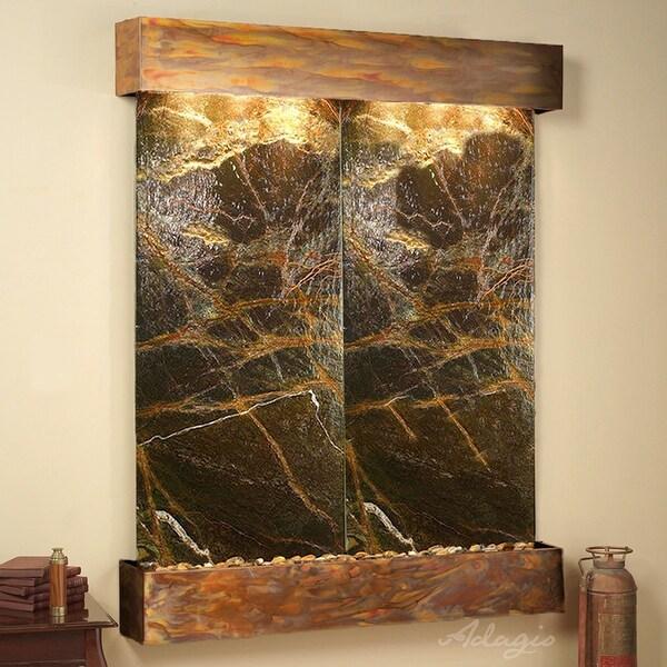 Adagio Majestic River Fountain - Square - Rustic Copper - Choose Options