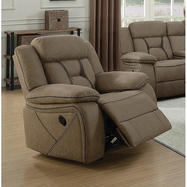 Endra Casual Glider Recliner with Padded Arm Rests. Opens flyout.