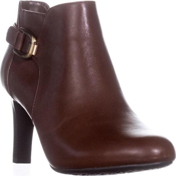 Bandolino Layita Dress Ankle Booties, Cognac