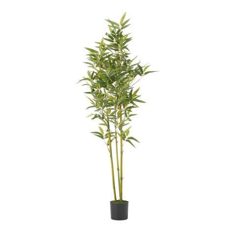 Soperton Artificial Tabletop Bamboo Plant by Christopher Knight Home