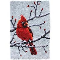 Cardinal  -Latch Hook Caron Cla
