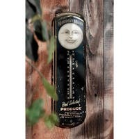 Design Toscano Harvest Moon Thermometer Wall Hanging Sculpture