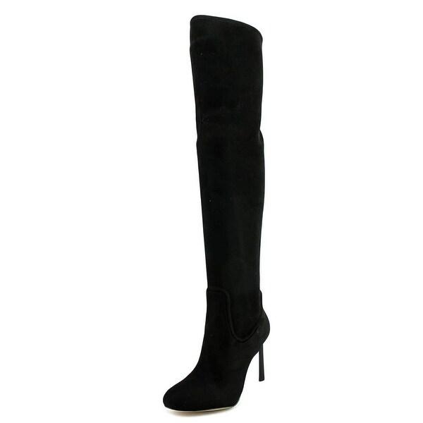 Nine West Uptown Grl Women Black Boots