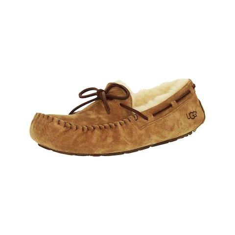 f73a25f644e6 Ugg Women s Dakota Leather Ankle-High Suede Slipper