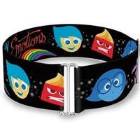 Inside Out Emotion Expressions Every Day Is Full Of Emotions Cinch Waist Sinch Waist Belt  ONE SIZE