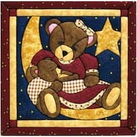 "12""X12"" - Momma & Baby Bear Quilt Magic Kit"