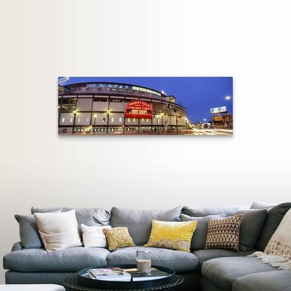 Illinois Chicago Cubs Baseball Canvas Wall Art Overstock 16853578