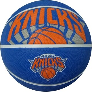 "Spalding SP-73067 NBA New York Knicks 29.5"" Outdoor Rubber Basketball"