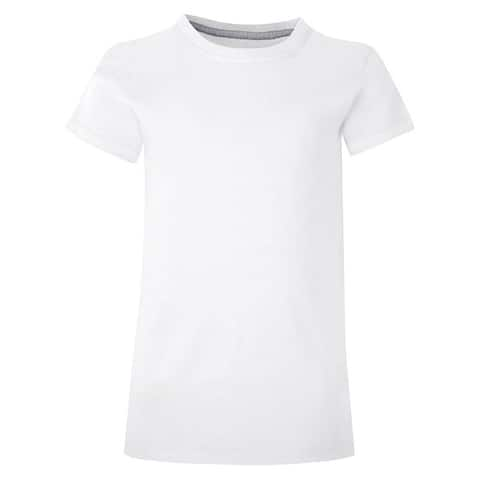 Hanes Girls' Essential Tee - Size - L - Color - White