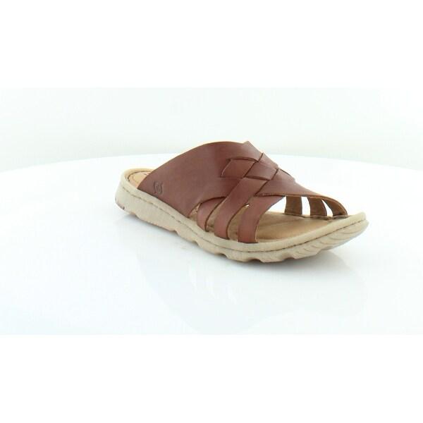 1571bdb6a538 Shop Born Tarpon Women s Sandals BROWN - 6 - Free Shipping Today ...
