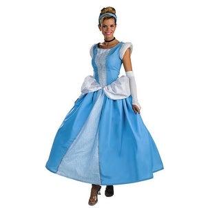 Disney Adult Cinderella Prestige Halloween Costume 12-14 - standard (size 12-14)