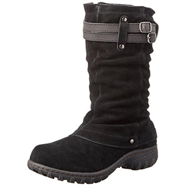 Khombu Womens Mallory Snow Boots Cuffed Waterproof