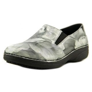 Spring Step Pro Ferrara Women W Round Toe Patent Leather Gray Work Shoe