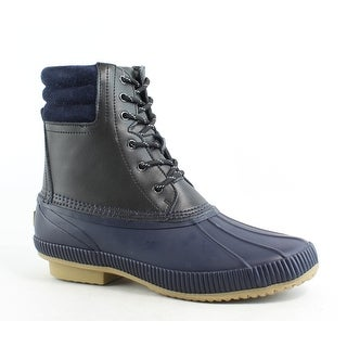 6198126183d90a Shop Tommy Hilfiger Mens Claymont Black Snow Boots Size 9 - Free Shipping  Today - Overstock.com - 26457747