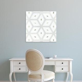 Easy Art Prints Victoria Borges's 'Seaglass Tiles II' Premium Canvas Art