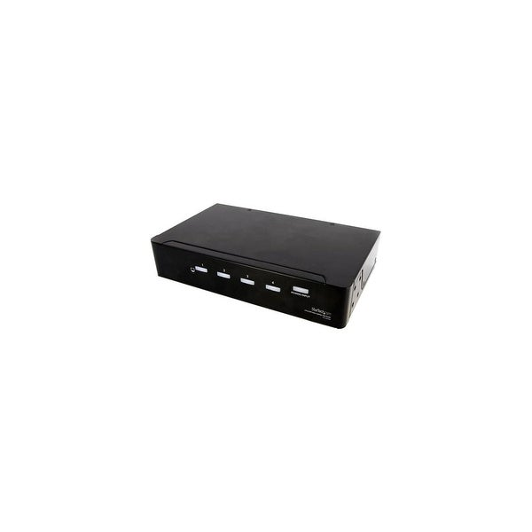 StarTech ST124DVIA StarTech.com 4 Port DVI Video Splitter with Audio - 1 x DVI-I (Dual-Link) Video In