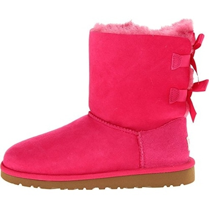 7f6684cdded UGG Australia Girls Kids Bailey Bow Cerise Winter Boot - 5