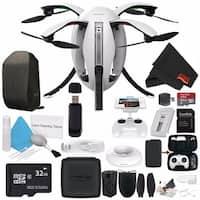 Power Vision PowerEgg Drone PVRPE00A + 32GB microSDHC Card + Backpack for PowerEgg Drone + Deluxe Cleaning Kit Bundle