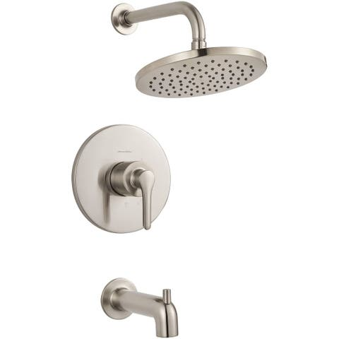 American Standard T105.508 Studio S Tub and Shower Trim Package with 1.8 GPM Rain Shower Head