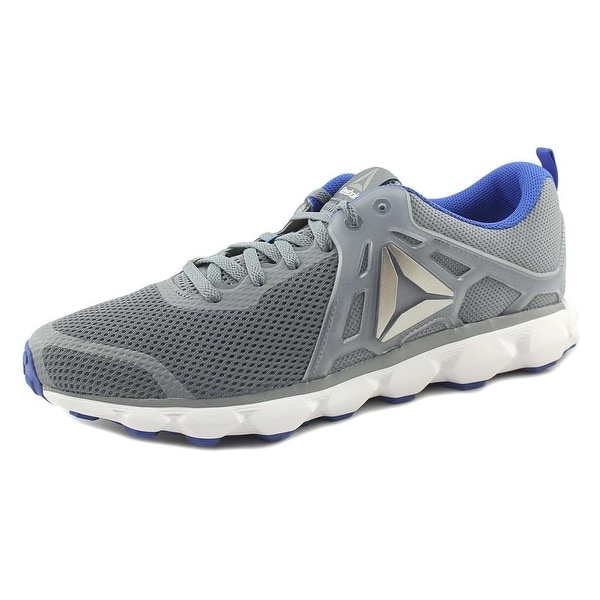 Reebok Hexaffect Run 5.0 Men Round Toe Synthetic Gray Sneakers