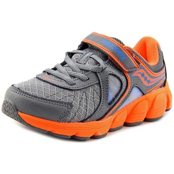 Saucony Kotaro 3 Youth W Round Toe Canvas Gray Running Shoe