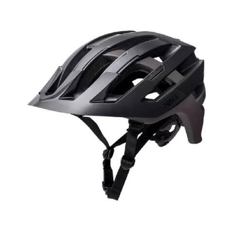 Kali Protectives Bike Helmet Interceptor Dual (Black/Titanium, L/XL)