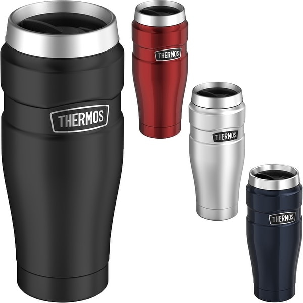 Thermos 16 oz. Stainless King Vacuum Insulated Stainless Steel Travel Mug - 16 oz.