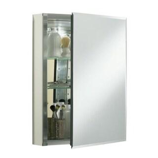 """Kohler K-CB-CLC2026FS 20"""" x 26"""" Single Door Reversible Hinge Frameless Mirrored Medicine Cabinet"""