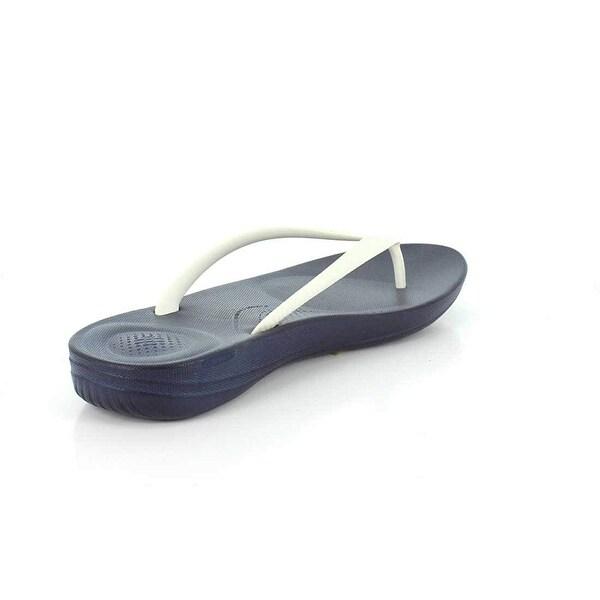 Shop FitFlop Women's Iqushion Ergonomic Flip Flops Crystal