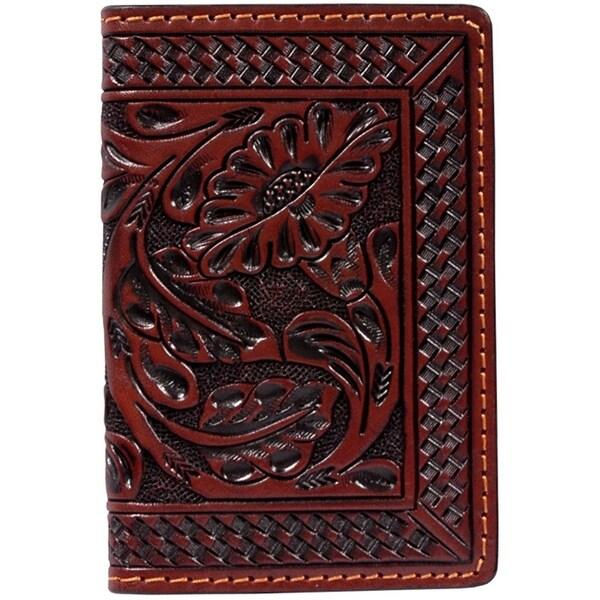 Shop 3d western business card holder hand tool floral basketweave 3d western business card holder hand tool floral basketweave tan w51 2 34 colourmoves