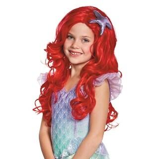 Disguise Ariel Ultra Prestige Child Wig - Red