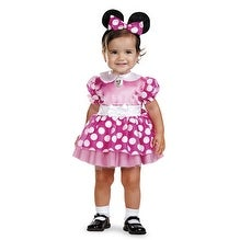 Disney Minnie Mouse Girls Infant 12-18 Months Costume - 12-18 Months