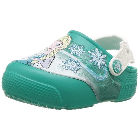 Kids Crocs Girls Frozen Slip On Clogs