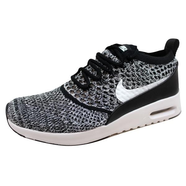 Nike Women's Air Max Thea Ultra Flyknit Black/White 881175-001