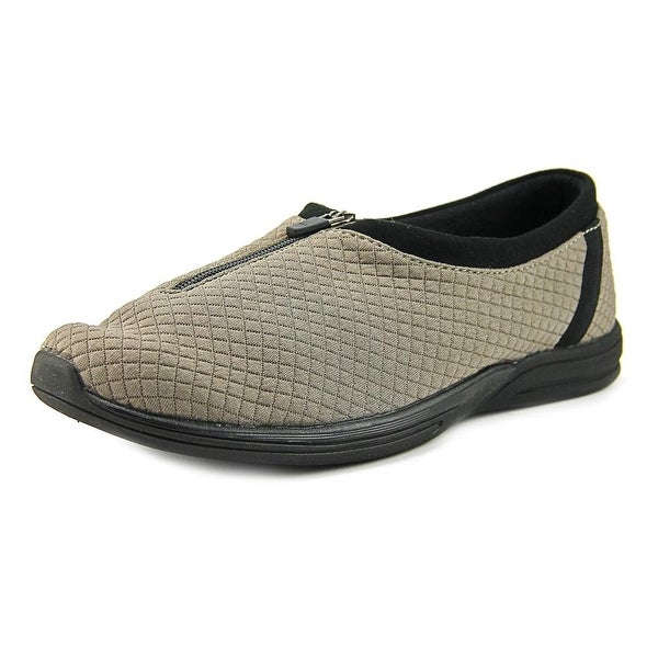 Aerosoles Traveler Women Round Toe Canvas Gray Loafer