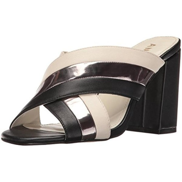 Anne Klein Womens Wileta Dress Sandals Mules