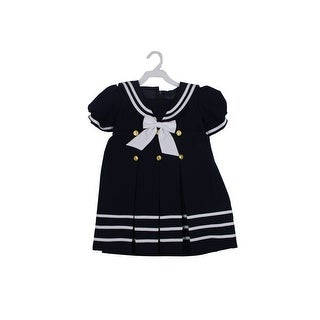 Paperio Toddler Girls Sailor Outfits Halloween Costume Navy Blue - Navy Blue