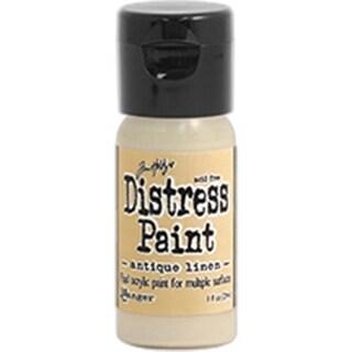 Distress Paint Flip Top 1oz-Antique Linen