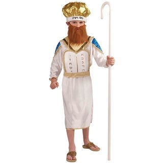 Forum Novelties Moshe Child Costume (Large) - White - Large