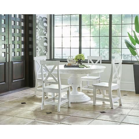 Picket House Furnishings Brixton Calinda Standard Dining Table in White
