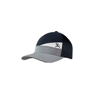 HOOey Hat Mens Slope Mid Profile Snapback One Size Navy