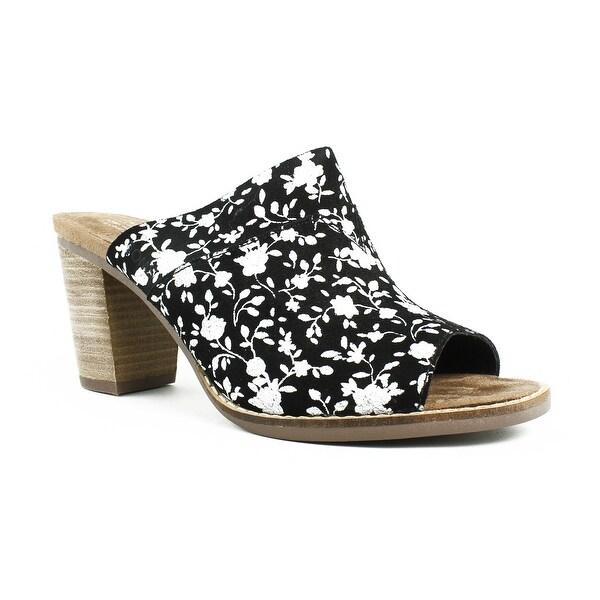 cf708816217 Shop TOMS Womens Majorcamule Black Slides Size 6.5 - Free Shipping ...