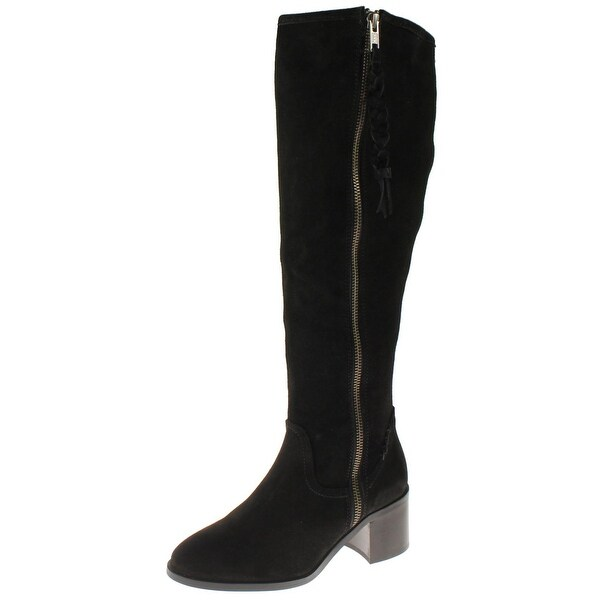 Steve Madden Womens Lasso Riding Boots Suede Knee-High
