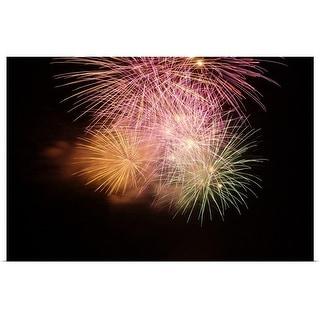 """Fireworks"" Poster Print"