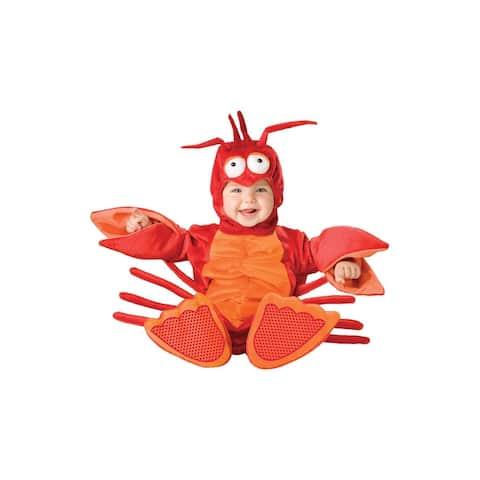 Lil Red Lobster Jumpsuit Designer Costume Child Toddler